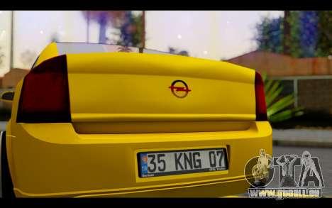 Opel Vectra Special pour GTA San Andreas vue intérieure
