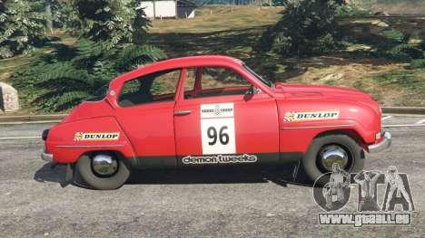 Saab 96 [rally] pour GTA 5
