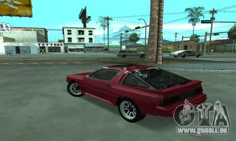 Mitsubishi Starion ECI-R für GTA San Andreas linke Ansicht