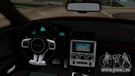 Dodge Challenger SRT-8 2010 pour GTA San Andreas vue de droite