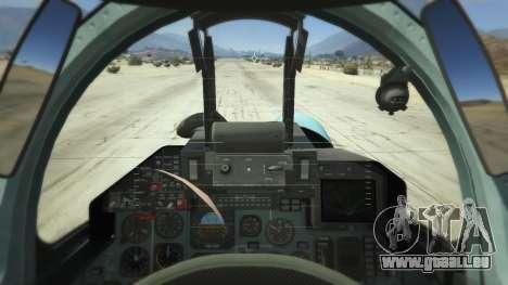GTA 5 Su-33 troisième capture d'écran