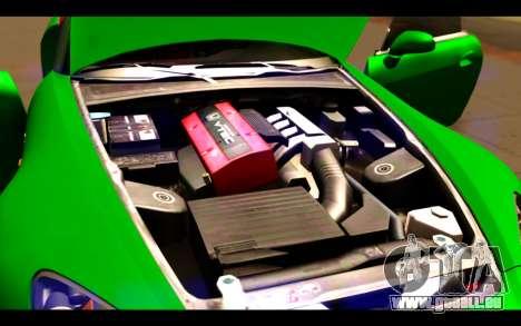 Honda S2000 für GTA San Andreas Unteransicht