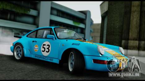 Porsche 911 Turbo 3.2 Coupe (930) 1985 pour GTA San Andreas vue intérieure