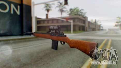 Arma2 M14 Assault Rifle pour GTA San Andreas deuxième écran