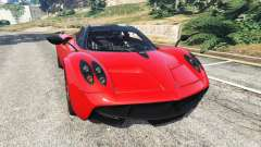 Pagani Huayra 2013 v1.1 [black and red rims]