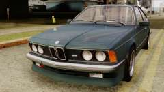 BMW M635 E24 CSi 1984 Stock