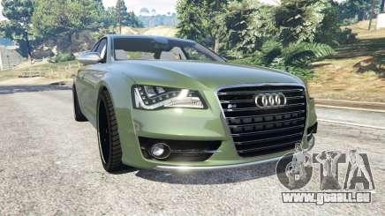 Audi S8 Quattro 2013 v1.2 pour GTA 5