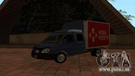 GAZelle 33023 Nova Poshta pour GTA San Andreas