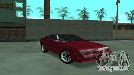 Mitsubishi Starion ECI-R für GTA San Andreas