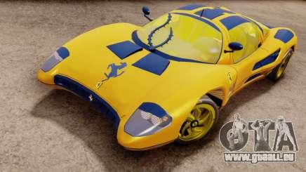 Ferrari P7 Gold pour GTA San Andreas