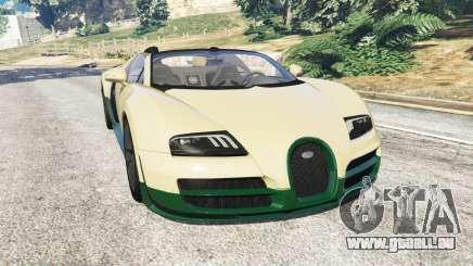 Bugatti Veyron Grand Sport Vitesse für GTA 5