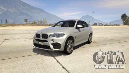 BMW X6M F16 Final pour GTA 5