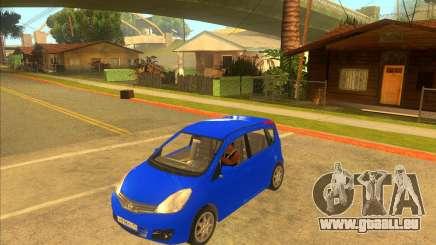 Nissan Note v0.5 Beta für GTA San Andreas