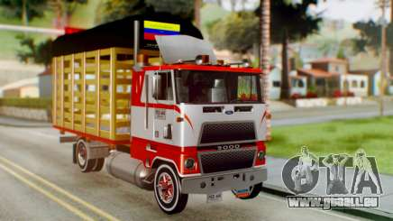 Ford 9000 Con Estacas Stylo Colombia pour GTA San Andreas