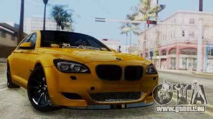 BMW 750Li M Sport pour GTA San Andreas