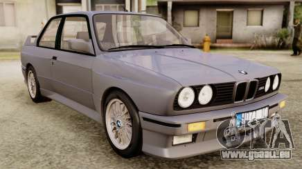 BMW M3 E30 1991 Stock pour GTA San Andreas