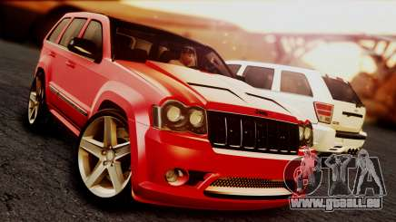 Jeep Grand Cherokee SRT8 Final version für GTA San Andreas