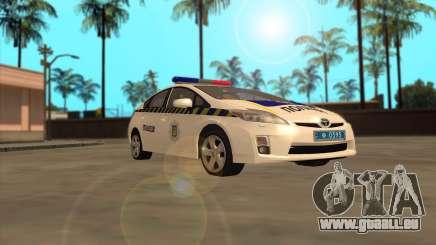 Toyota Prius Polizei Der Ukraine für GTA San Andreas