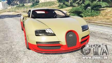 Bugatti Veyron Super Sport für GTA 5