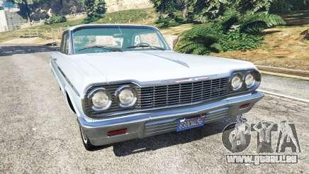 Chevrolet Impala SS 1964 v2.0 pour GTA 5
