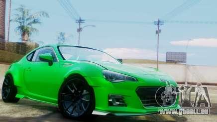 Subaru BRZ 2013 Rocket Bunny pour GTA San Andreas