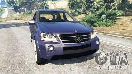 Mercedes-Benz ML63 (W164) 2009 pour GTA 5