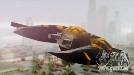 Alien Ship Yellow-Black für GTA San Andreas