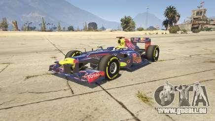 Red Bull F1 v2 redux pour GTA 5