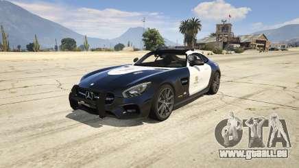 LAPD Mercedes-Benz AMG GT 2016 für GTA 5