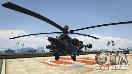 Mi-28 chasseur de Nuit pour GTA 5