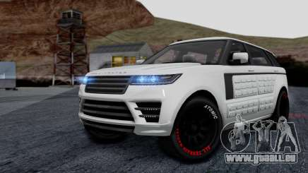 GTA 5 Gallivanter Baller LE LWB Arm IVF pour GTA San Andreas