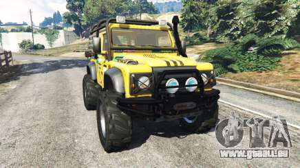 Land Rover Defender 90 1990 v1.1 pour GTA 5