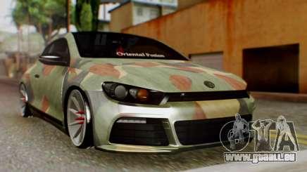 Volkswagen Scirocco R Army Edition für GTA San Andreas