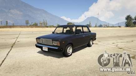 VAZ-2107 Lada Riva v1.2 pour GTA 5
