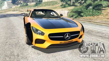 Mercedes-Benz AMG GT 2016 [LibertyWalk] pour GTA 5