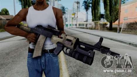 CoD Black Ops 2 - AN-94 für GTA San Andreas dritten Screenshot