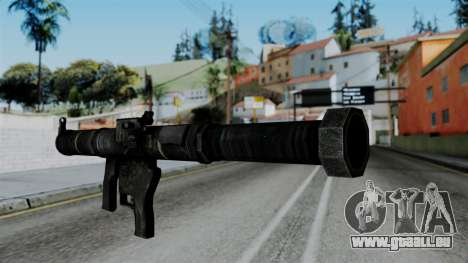 CoD Black Ops 2 - SMAW pour GTA San Andreas deuxième écran