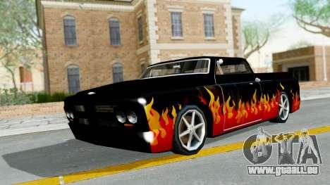 Blade New PJ pour GTA San Andreas