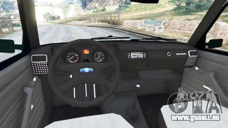 GTA 5 VAZ-2104 [Beta] arrière droit vue de côté