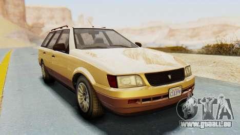GTA 5 Vulcar Ingot pour GTA San Andreas vue de droite