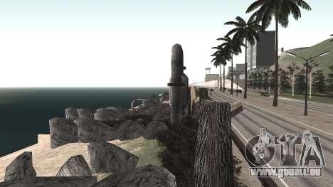 Route de réparation-Les Saints - Les entreprises pour GTA San Andreas onzième écran