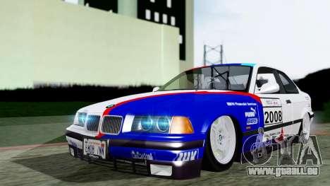 BMW M3 Coupe E36 (320i) 1997 für GTA San Andreas Innenansicht