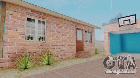 New Big Smoke House pour GTA San Andreas troisième écran
