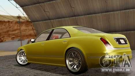 GTA 5 Enus Cognoscenti 55 IVF pour GTA San Andreas laissé vue