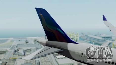 C919 UrumqiAir pour GTA San Andreas sur la vue arrière gauche