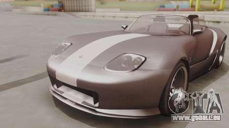 GTA 5 Bravado Banshee 900R Carbon für GTA San Andreas rechten Ansicht