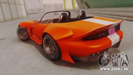 GTA 5 Bravado Banshee 900R für GTA San Andreas linke Ansicht