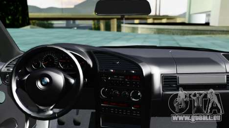 BMW M3 Coupe E36 (320i) 1997 für GTA San Andreas zurück linke Ansicht