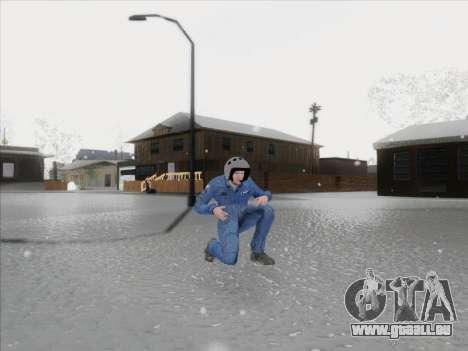 Le pilote de CR de la Fédération de russie pour GTA San Andreas troisième écran