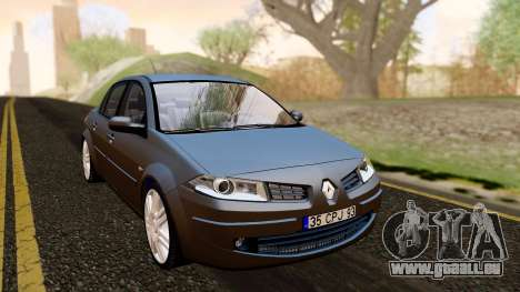 Renault Megane CPJ pour GTA San Andreas vue de droite